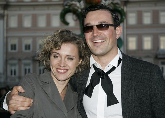 Благотворители Егор Бероев и Ксения Алферова./ Фото: kino-teatr.com