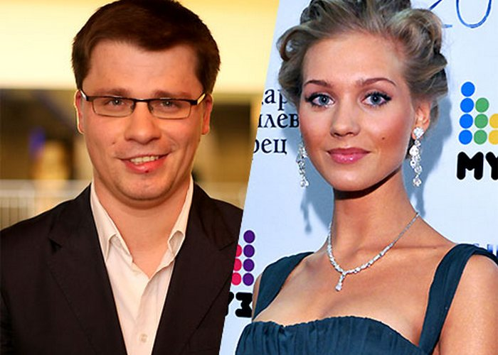Благотворители Гарик Харламов и Кристина Асмус./ Фото: plin.ru