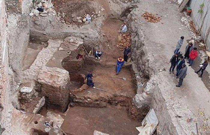 Болгарская археология: римская баня.