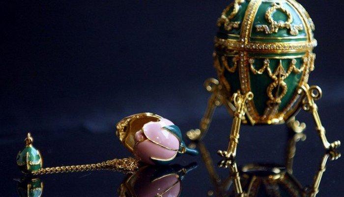 Пасхальное яйцо с сюрпризом от «Дома Фаберже»./ Фото: puzzleit.ru