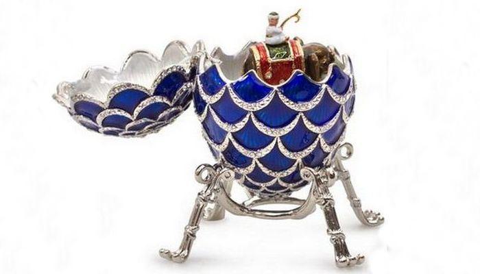 Пасхальное яйцо с сюрпризом от «Дома Фаберже»./ Фото: citytourpass.ru