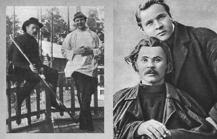 Настоящие друзья,1901 год./ Фото: hrono.ru