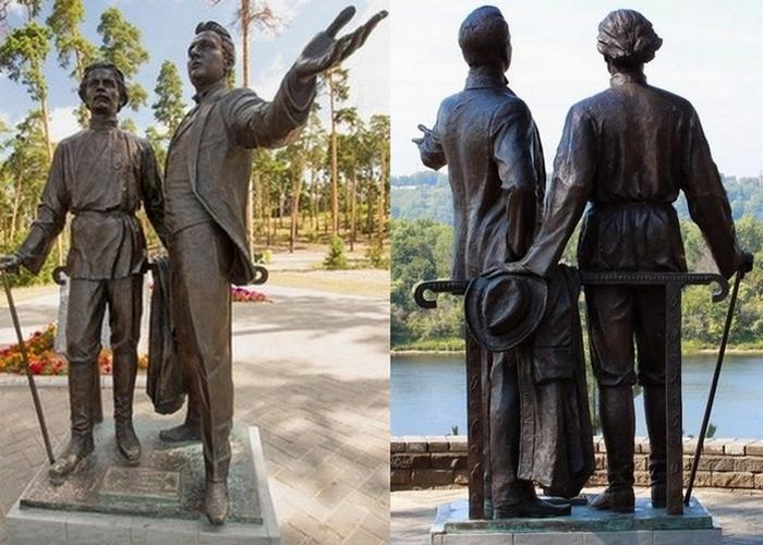 Памятник на «Моховых горах»./ Фото: tvoy-bor.ru