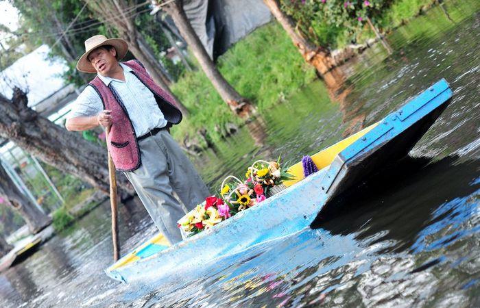 Сельскохозяйственные традиции ацтеков сегодня./ Фото: eastnews.ua