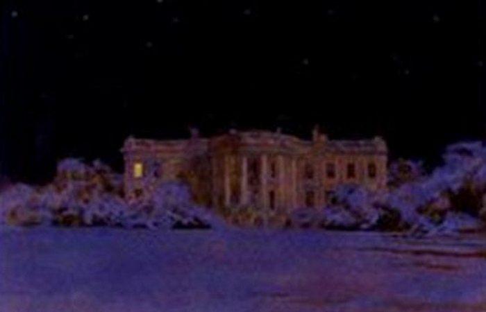 Рождественские открытки от Рональда Рейгана, продвигающие молодых художников.