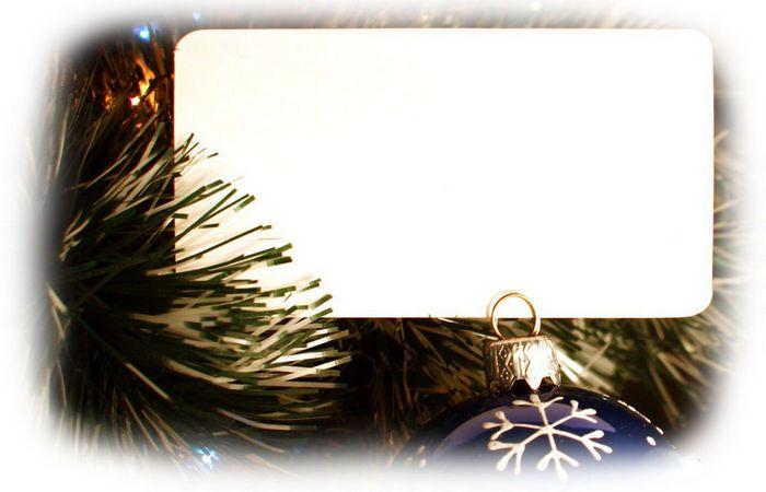 Одна из первых электронных рождественских открыток.