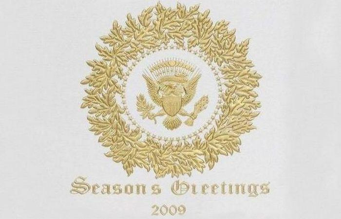 Первая политкорректная рождественская открытка.