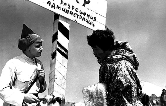 Граница. Кадр из фильма «Начальник Чукотки»./ Фото: seance.ru