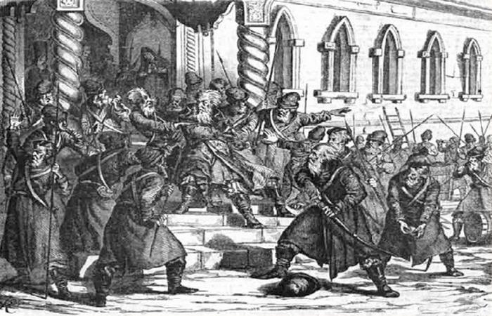 «Стрелецкий бунт».