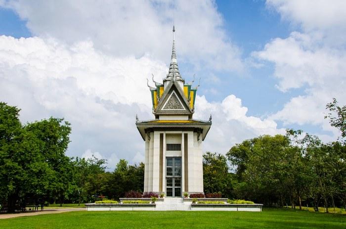 Буддиская ступа на территории музея./ Фото: dreamstime.com