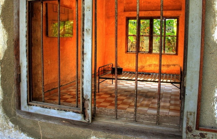 Камера пыток в «Тоул Сленге»./ Фото: dreamstime.com