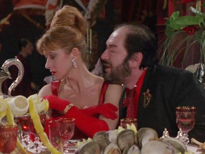 Кадр из фильма «Повар, вор, его жена и ее любовник», 1989 год.
