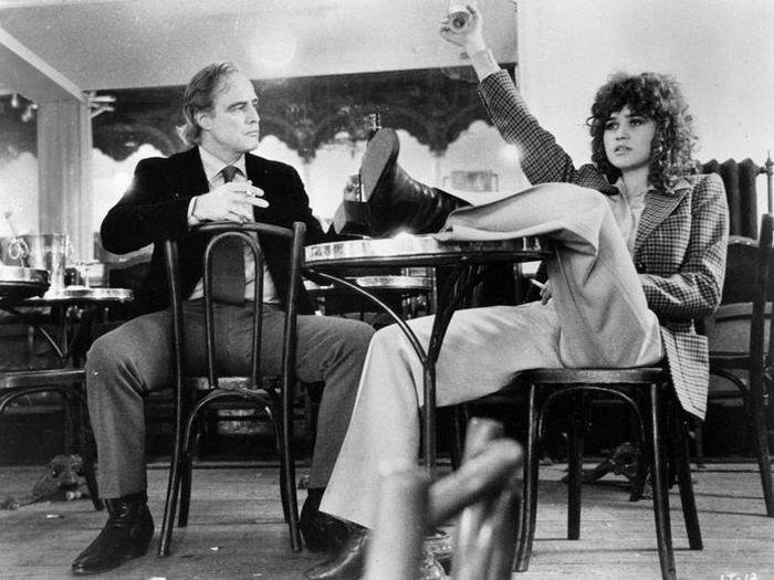 Кадр из фильма «Последнее танго в Париже», 1972 год.