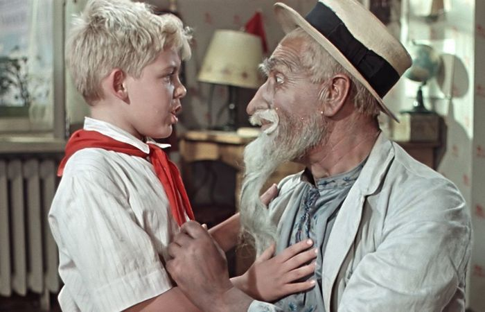 Кадр из фильма «Старик Хоттабыч»./ Фото: kafaizni.org