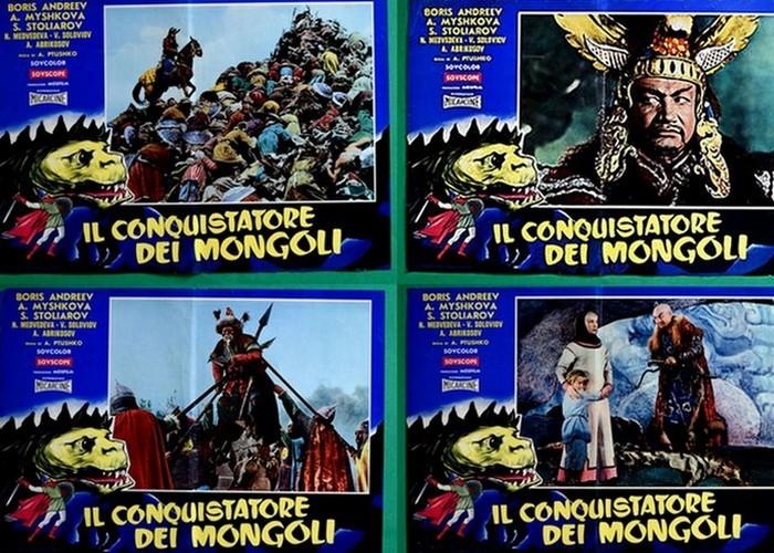 Афиша фильма «Победитель монголов» (Италия)./ Фото: golos.io
