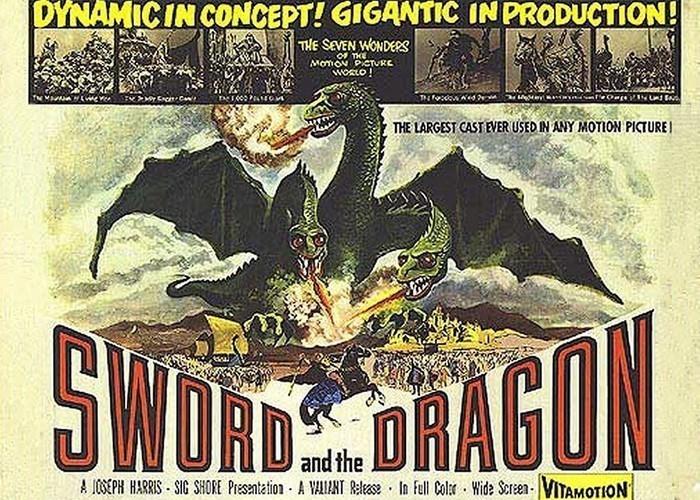 Афиша фильма «Меч дракона» (Испания)./ Фото: lj-top.ru