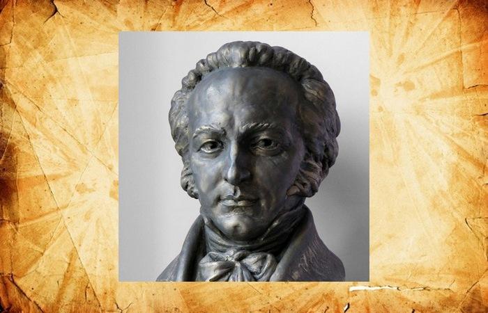 Бюст Франца Ксавера Вольфганга Моцарта.