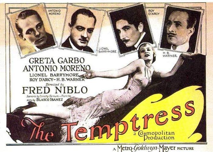 Постер к фильму «Соблазнительница», 1926 год./Фото: film.ru
