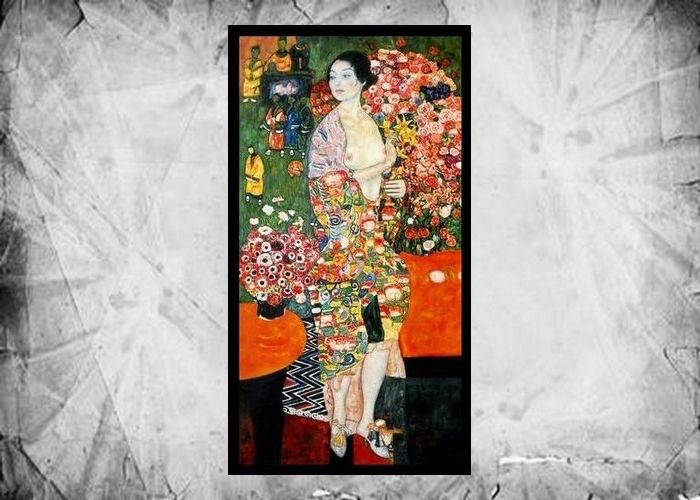 Фрагмент картины Густава Климта «Танцовщица», 1916-1918 годы.