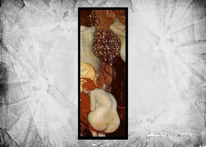 Фрагмент картины Густава Климта «Золотые рыбки», 1901-1902 годы.