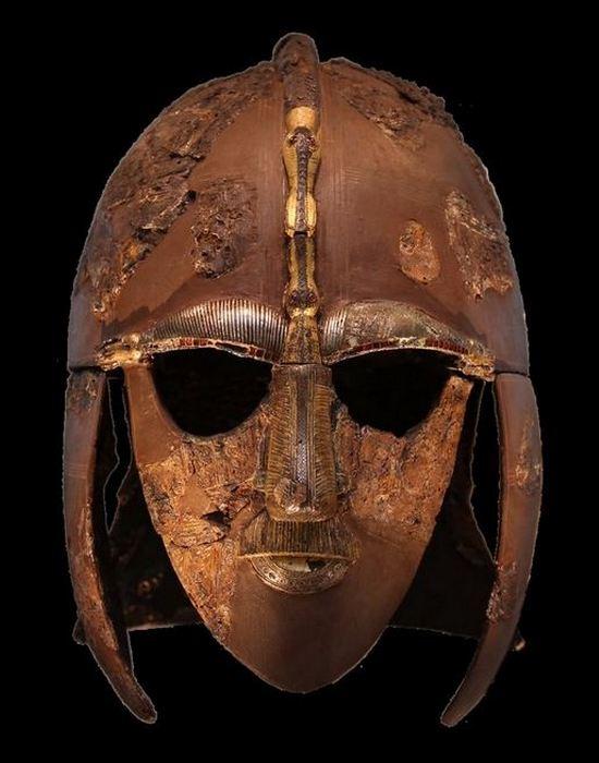 Англосаксонский шлем Редвальда./ Фото: zbroevy-falvarak.by