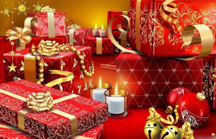 Рождественские подарки.