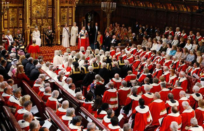«Папская прихоть» в английском парламенте.