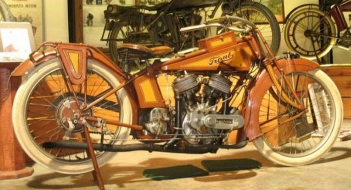 Неразгаданная тайна: «Мотоцикл Traub».