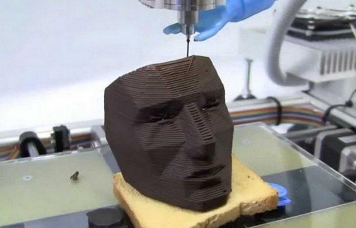 Изделие одного из первых 3D-принтеров.