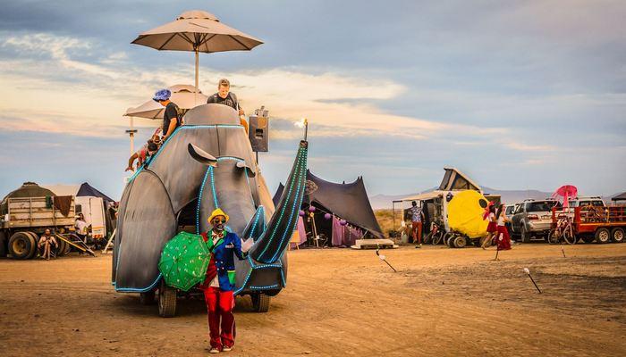 Фестиваль «AfrikaBurn».