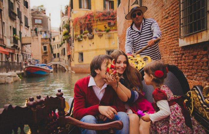 Семья для итальянцев всегда на первом месте.