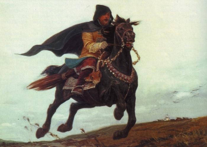 Опричник Ивана Грозного. / Фото: omvesti.ru