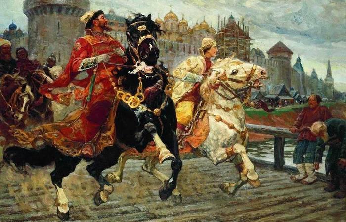 Иван Грозный в Новгороде./ Фото: cyrillitsa.ru