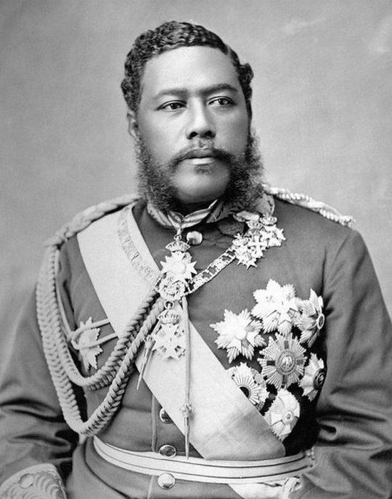Король Давид Калакауа.
