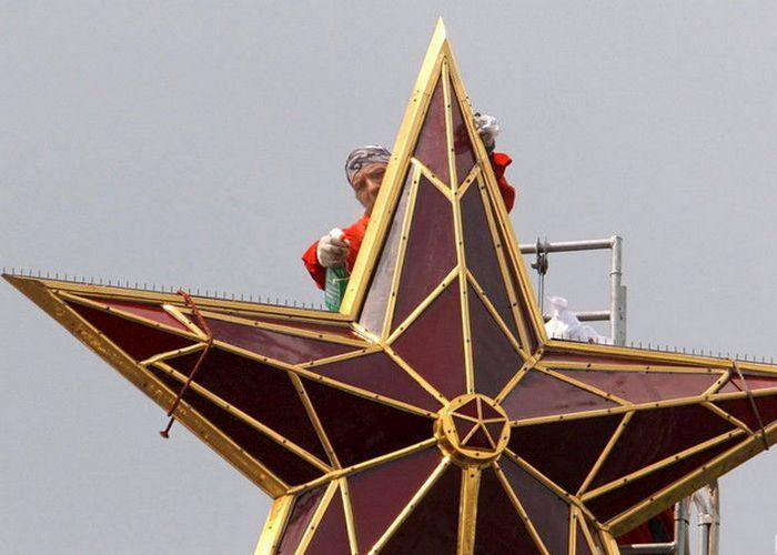Обслуживание главной звезды страны./ Фото: nv.ua