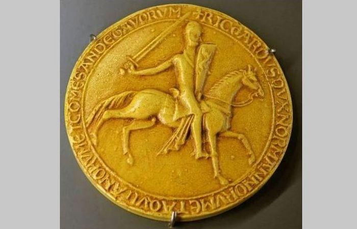 Большая печать короля Ричарда I, 1189 год.