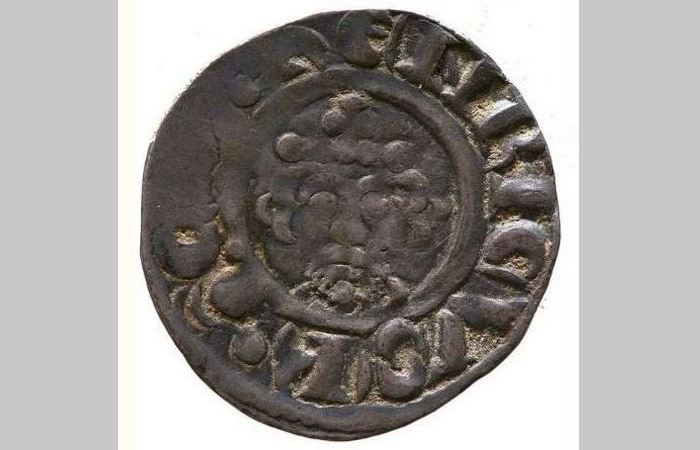 Серебряный пенни Ричарда I, Йоркский музей.