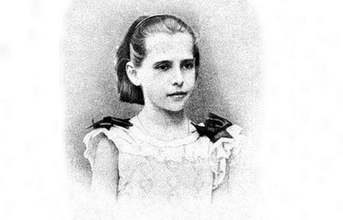 Лидия Чарская в детстве./ Фото: charskaya.diary.ru