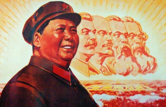 Великий кормчий Мао Цзэдун.