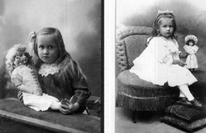Мария Тенишева в детстве./ Фото: babiki.ru