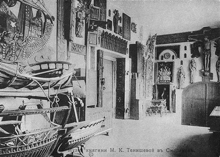 Экспозиция музея Тенишевой в Смоленске./ Фото:  miloserdie.ru