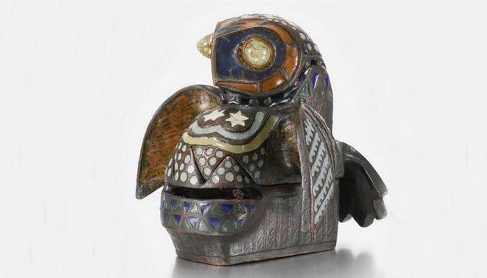 Княжеский бестиарий «Заклятое зверье»: шкатулка «Сова»./Фото: orloffmagazine.com