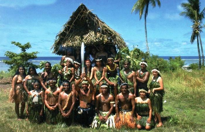 Полинезийцы./ Фото: smileplanet.ru