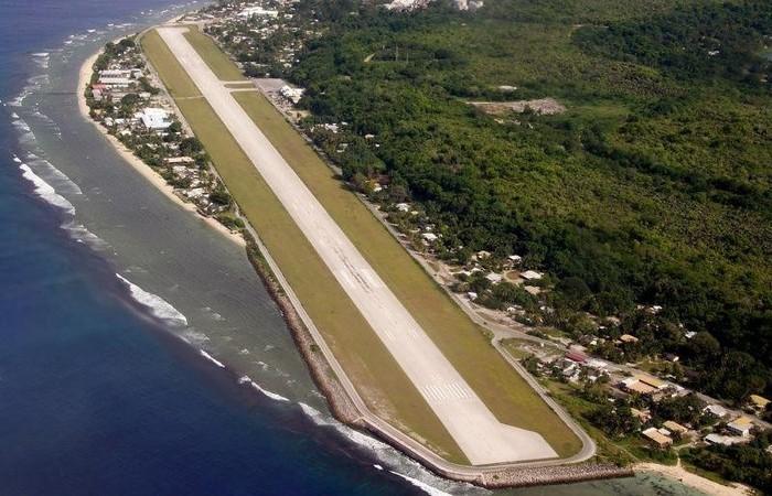 Аэропорт Науру./ Фото: smileplanet.ru