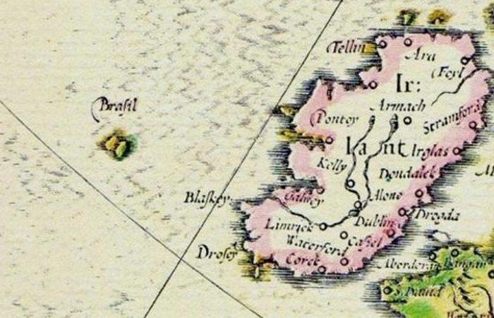 Несуществующий остров Хай-Бразил.