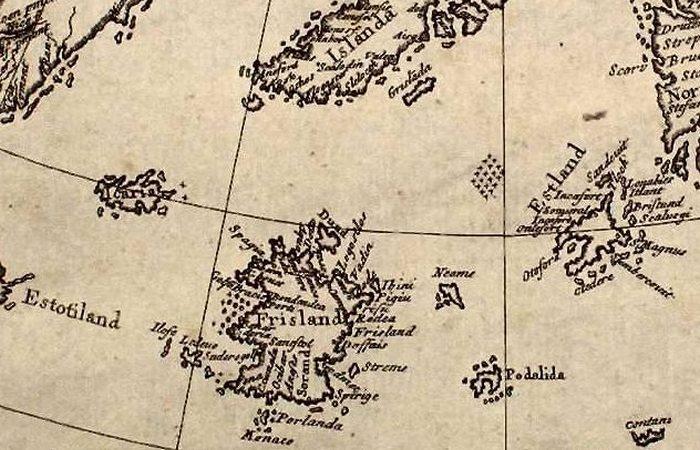 Несуществующий остров Фрисланд.