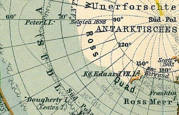 Несуществующий остров Дауэрти.