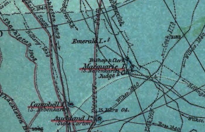 Несуществующий остров Изумруд.