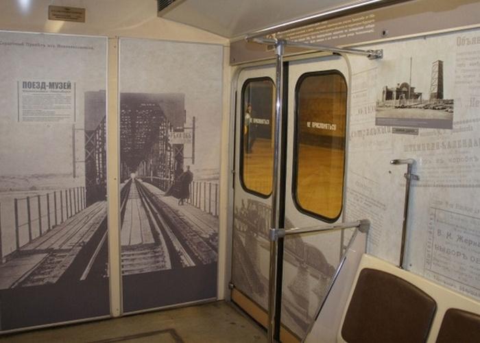 Вагон-музей метро Новосибирск./ Фото: sibnovosti.ru
