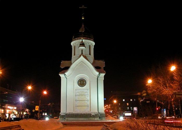 Часовня Николая Чудотворца./Фото: cultinfo.ru